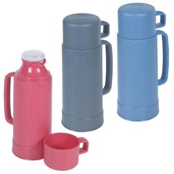 1 Litre Insulated Hot Cold Food Drink Vacuum Thermos Coffee