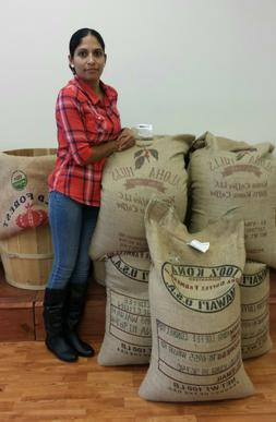 100% Kona / Hawaiian Coffee Whole Beans  -  Fresh Roasted Da