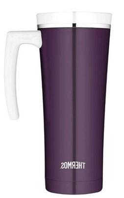 Thermos 16oz Vacuum Stainless Steel Travel Coffee Cup Mug Tu