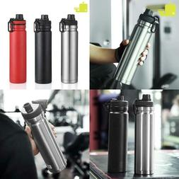 Oneisall 750Ml Large Capacity Stainless Steel Thermos Portab
