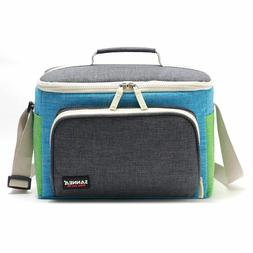9L Lunch Bag Kid Camping Outdoor Thermos Portable Travel Sho