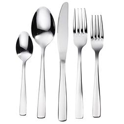 Bruntmor, The Everyday Silverware 20 Piece Flatware Cutlery