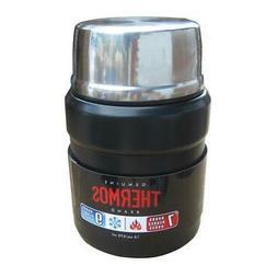 Thermos Stainless Steel Food Jar, Matte Black, 1 ea