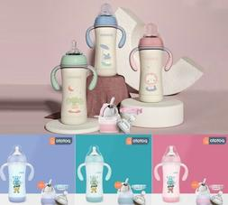 Baby Bottles Drinking Vacuum Flasks Stainless Steel Insulate