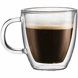 Bistro Mug Sets - Double Wall Thermo Glass Espresso For Hot