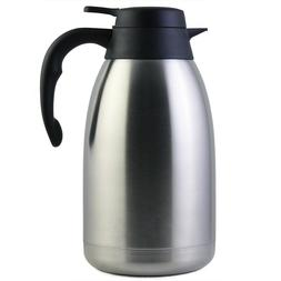 Brand 68 Oz Stainless Steel Thermal Coffee Carafe/Double Wal