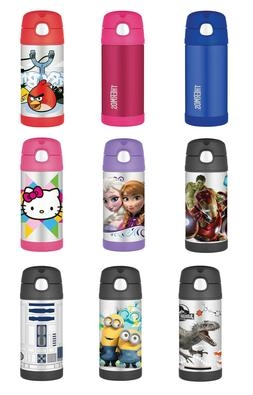 Thermos Character Funtainer Straw Bottle, 12 oz, 59 Colors