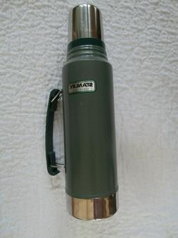 Classic Stanley Vacuum Thermos Bottle Coffee Green Hammerton