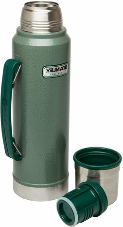 Classic Vacuum Thermos Bottle Coffee Green Stanley Hammerton