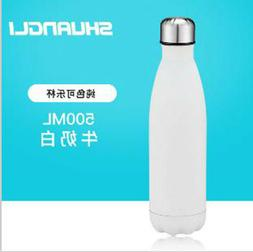 Cola Bottle Stainless Steel Thermos Sports Water Flask insul