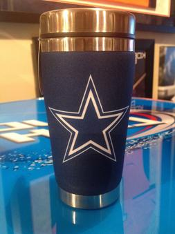 Mugzie Dallas Cowboys Travel Mug with Insulated Wetsuit Cove