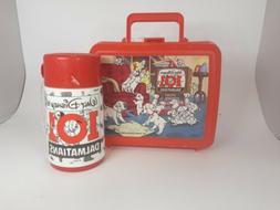 Disney's 101 Dalmatians, Aladdin Plastic Lunch Box W/ Thermo