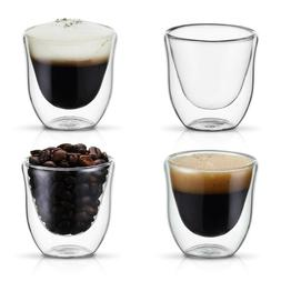 Double Wall Glass Espresso Coffee Shot Thermo Insulated Cups