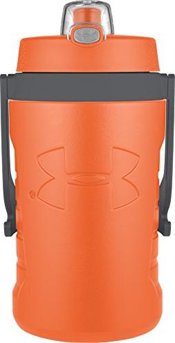 Under Armour Sideline 64 Ounce Water Bottle, Blaze Orange