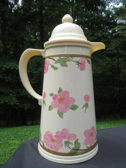 Franciscan Desert Rose Thermal Carafe Coffee Butler Tea Serv