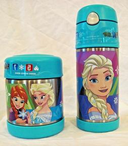 Thermos FUNtainer Disney Frozen Elsa and Anna Drink Bottle a