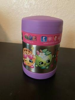 Thermos FUNtainer Food Jar, Shopkins, 10 Ounces-