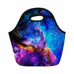 Coloranimal Galaxy Space Universe Neoprene Lunch Tote Bag