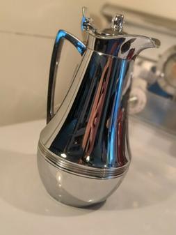 Alfi Glass Vacuum Insulated Chrome Carafe 1L coffee thermos