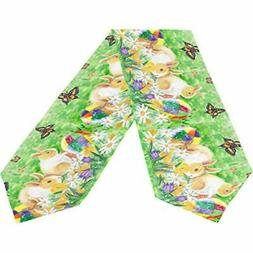 Wamika Happy Easter Bunny Rabbit Spring Flower Lilies Long T