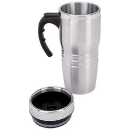 New 16oz Insulated COFFEE TRAVEL MUG Stainless Steel Double