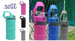 Insulated Double Wall Water Bottles w/ handle Thermos Bpa Fr