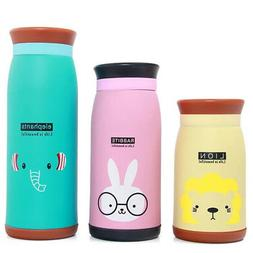 Kids girl Cartoon Stainless Steel Vacuum Thermal Mug Thermos