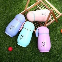 Kids Thermos Cup Cute Rabbit Stainless Steel Vacuum Flask Wa