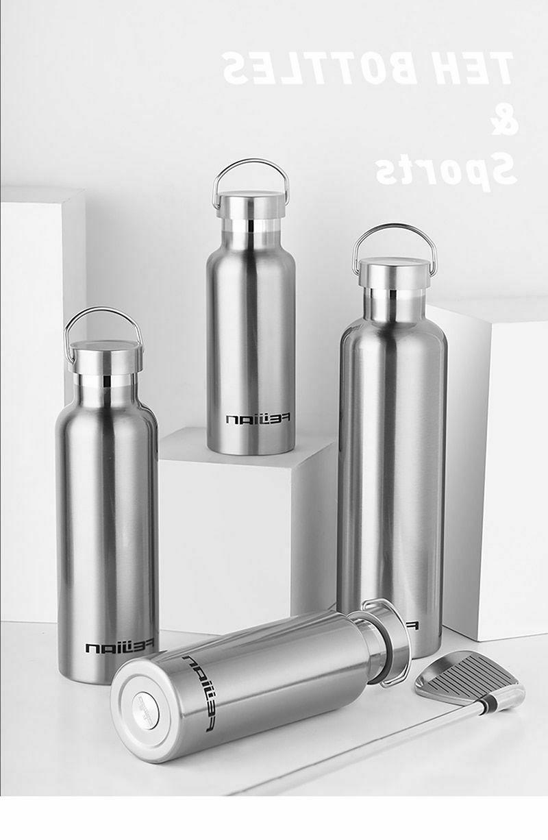 1000ML Bottle Thermos Vacuum Portable Capacity