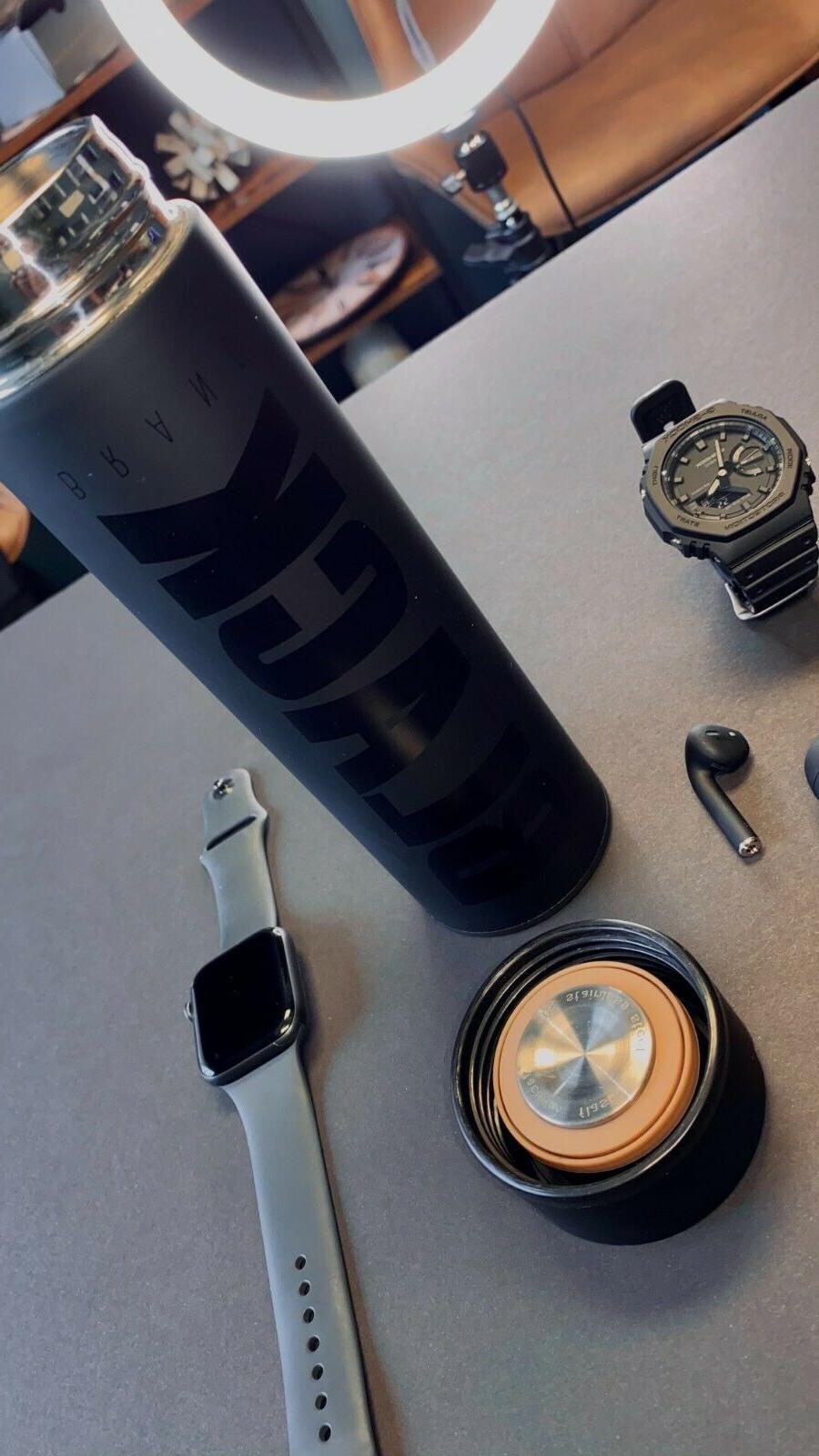 16 Vacuum Steel Insulated Cup Travel BLACK