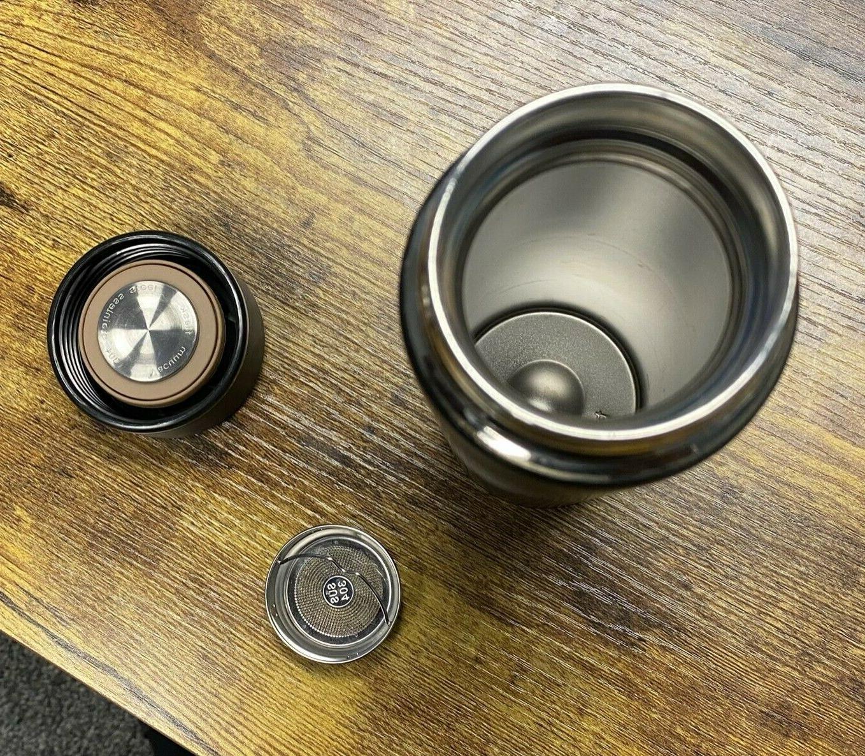 16 oz Vacuum Sealed Steel Cup