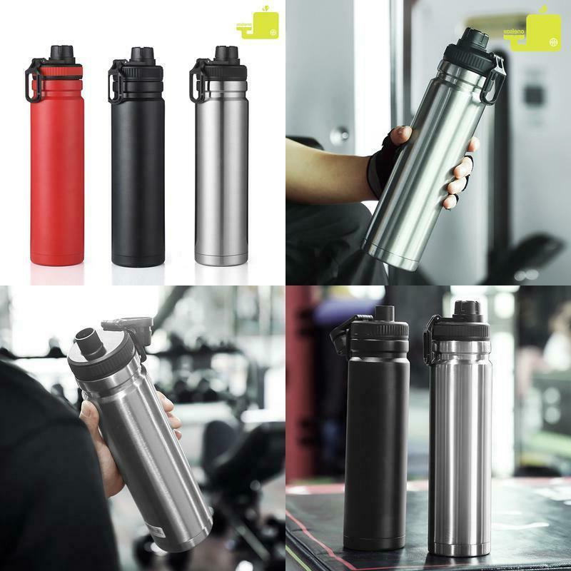 750ml large capacity stainless steel thermos portable