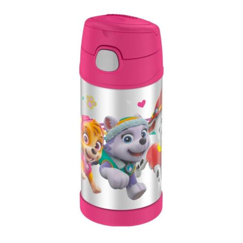 Thermos Funtainer 12 ounce Bottle, Paw Patrol Pink
