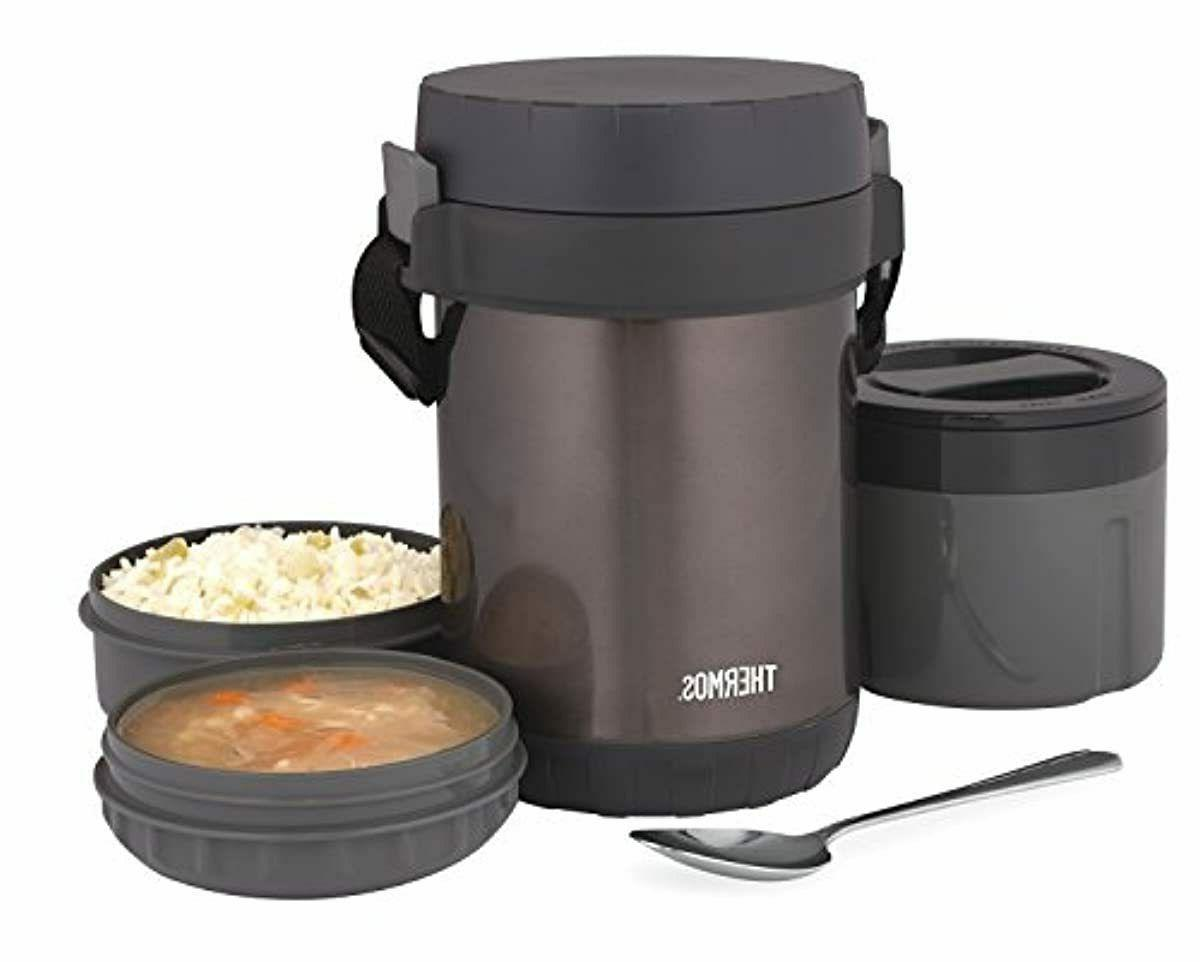 All-In-One Insulated Steel Meal Carrier Spoon,