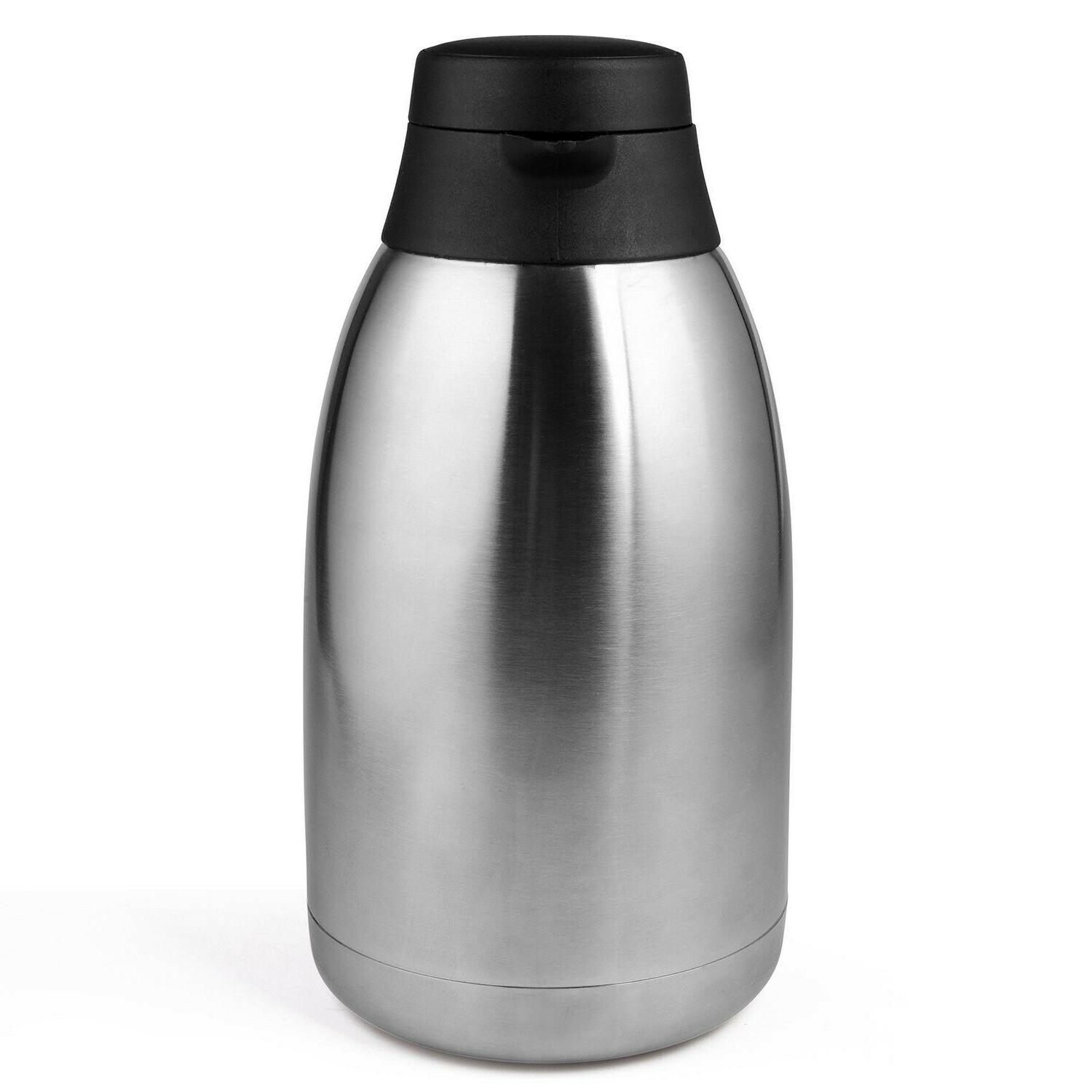 Brand 68 Oz Stainless Steel Thermal Coffee Carafe/Double Walled Thermos