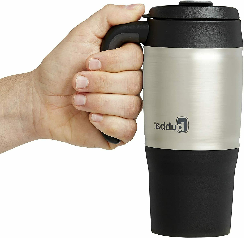 Bubba Insulated Thermos Mug Hot Coffee Tea 18oz Tumbler Black