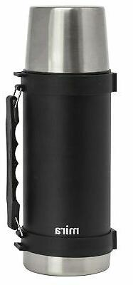 MIRA Classic Stainless Steel Vacuum Wide Mouth Thermos | Lea