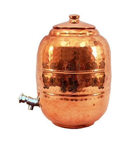 Copper Storage Tap Home & Organization Water Storage 6.5 ltr.