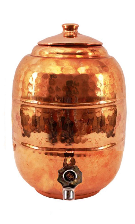 copper storage pot tap home kitchen
