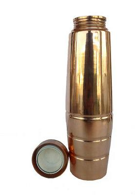 Copper Bottle New Thermos Design ml Capacity Three Line
