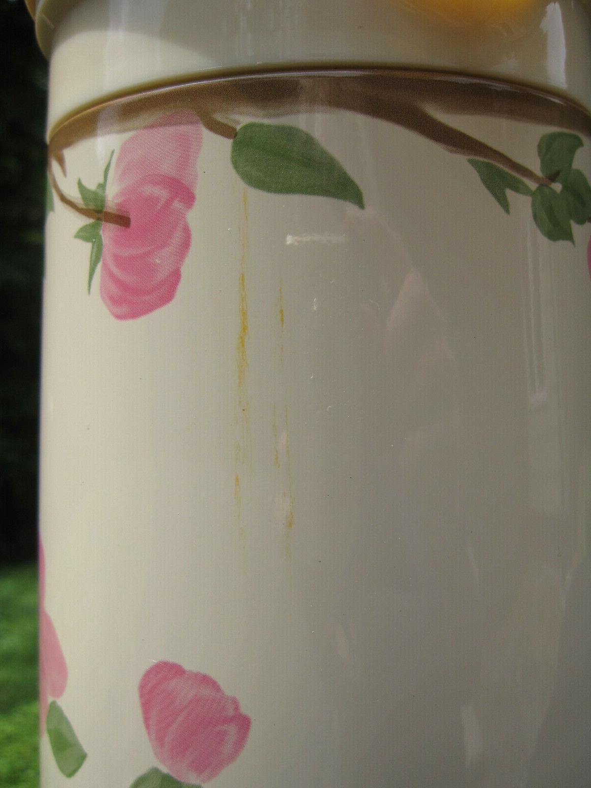 Franciscan Desert Rose Thermal Carafe Butler
