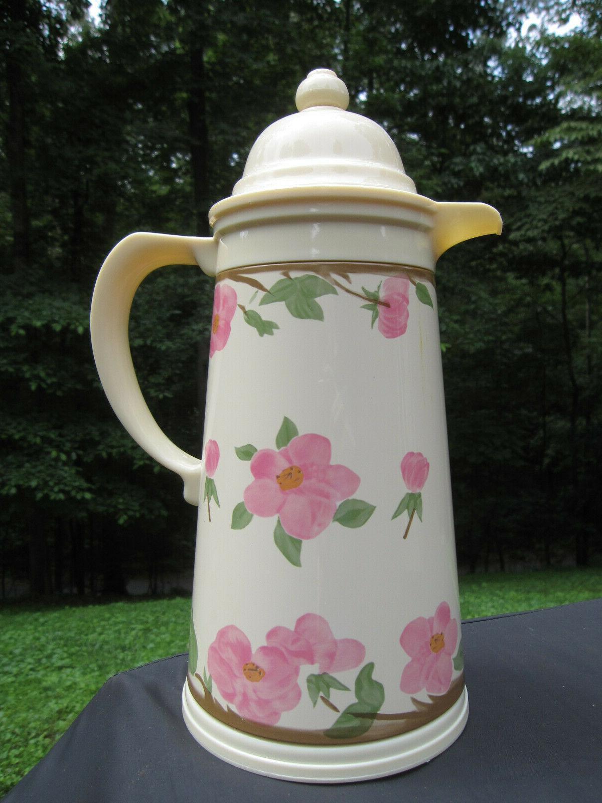 franciscan desert rose thermal carafe coffee butler