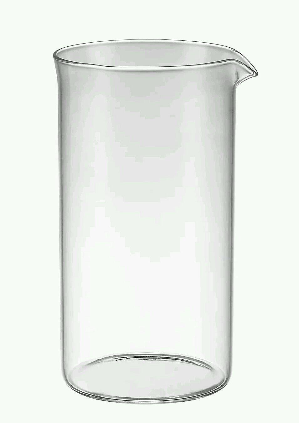 French Press Coffee 8-Cup Glass Carafe Jug Jar Beaker will F