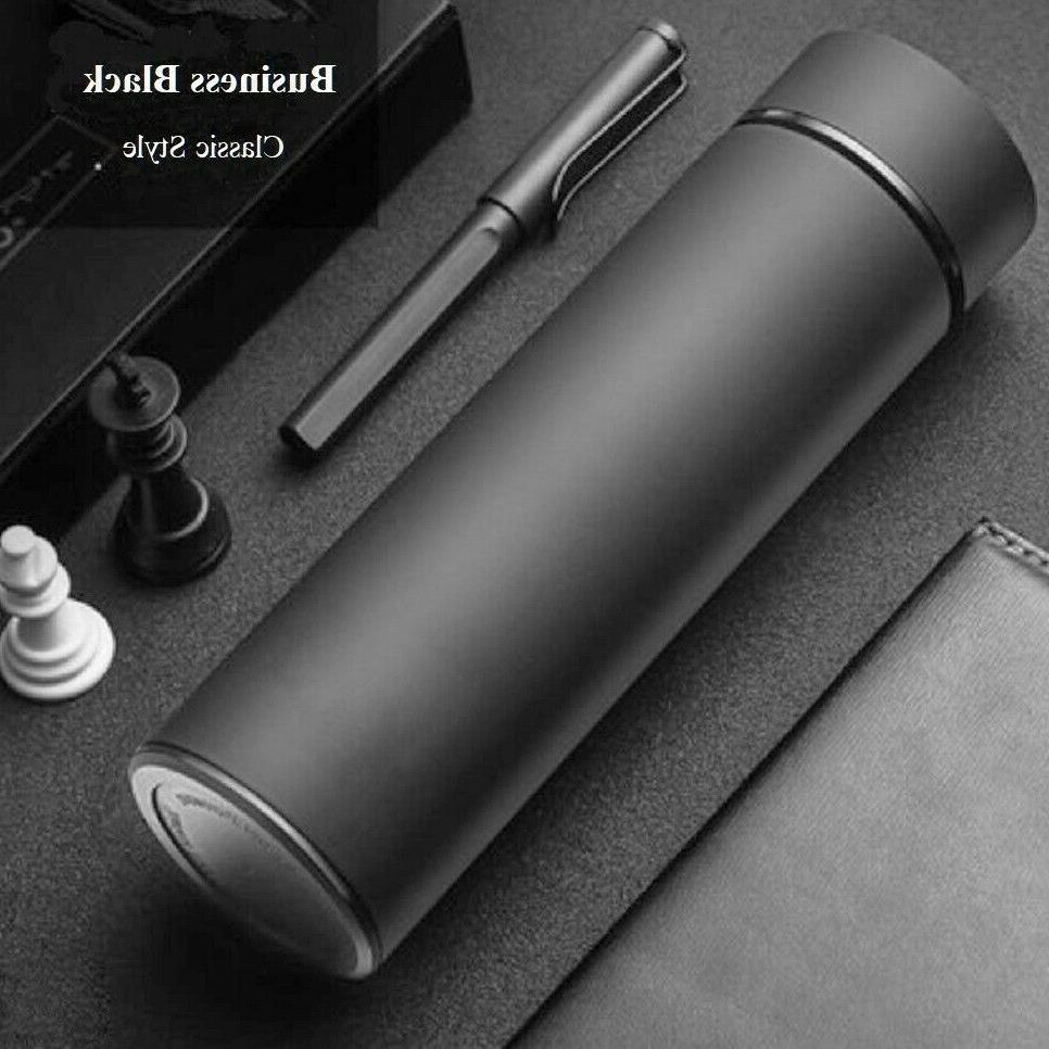 Insulated Stainless Vacuum Flask Thermos Coffee