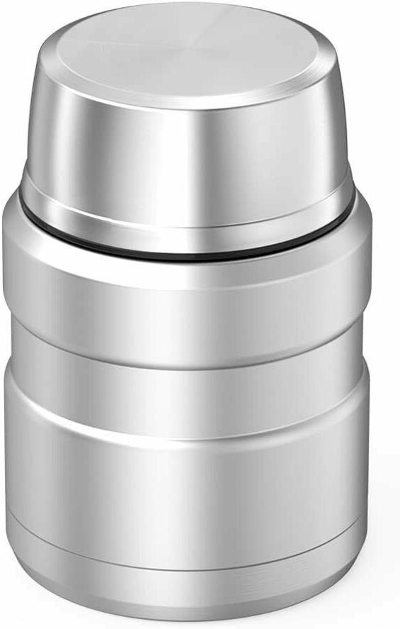 Thermos King Food Vacuum w/ Folding Spoon Ounce