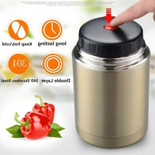 Large Capacity Thermos Lunch Box Food