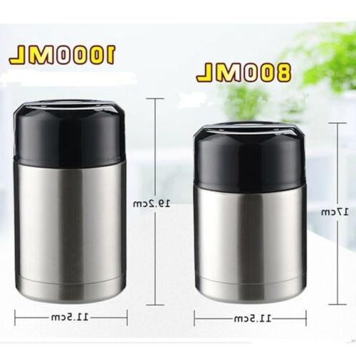 Large Thermos Box Food Soup Vacuum