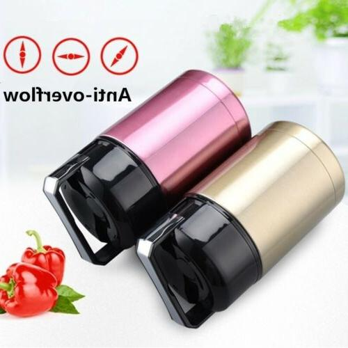 Large Capacity Lunch Box Portable Stainless Steel Food Soup
