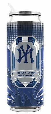 New York Yankees Stainless Steel Thermo Can - 16.9oz  Tumble