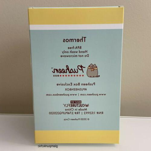 NIB Pusheen The Thermos Spoon Camp Subscription Box Exclusive 2020